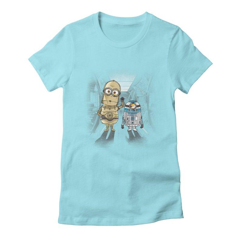 M2D2 AND M3PO Women's Fitted T-Shirt by zakeu's Artist Shop