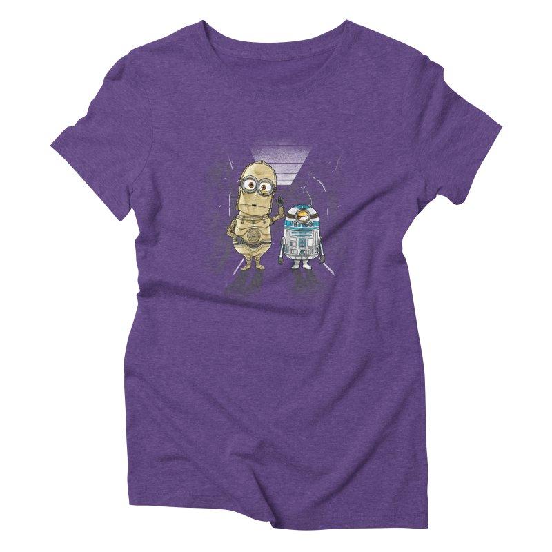 M2D2 AND M3PO Women's Triblend T-shirt by zakeu's Artist Shop
