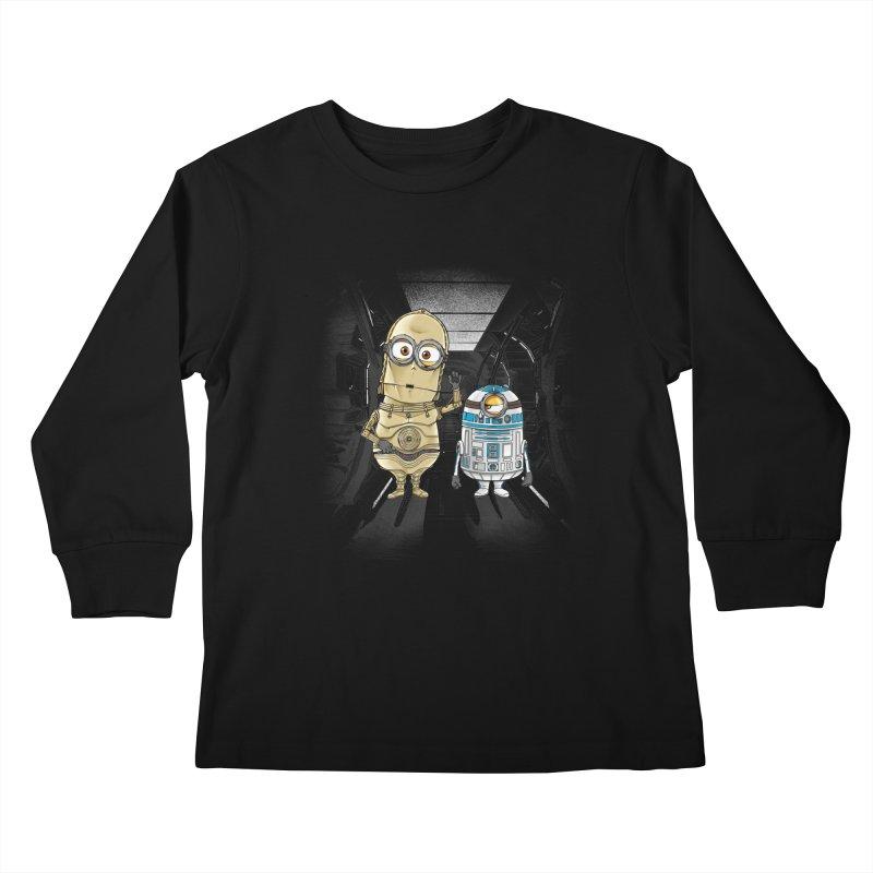 M2D2 AND M3PO Kids Longsleeve T-Shirt by zakeu's Artist Shop