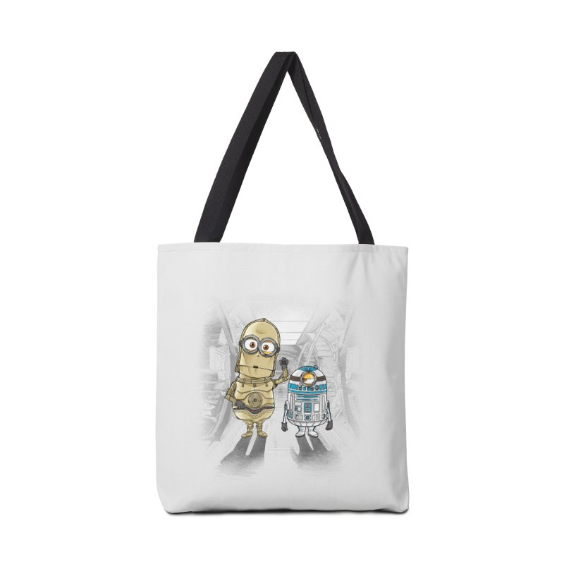 M2D2 AND M3PO Accessories Bag by zakeu's Artist Shop