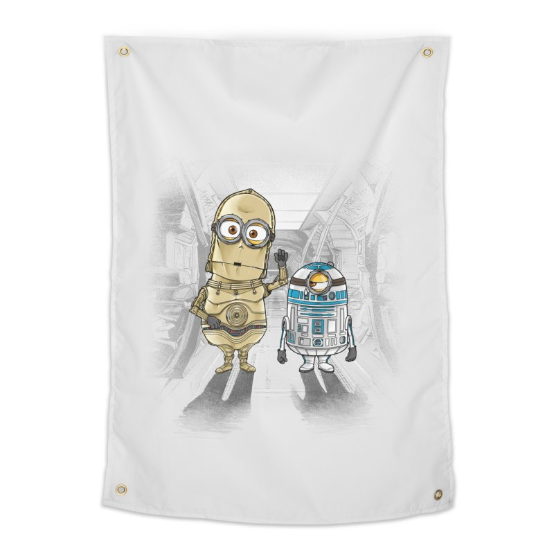M2D2 AND M3PO Home Tapestry by zakeu's Artist Shop