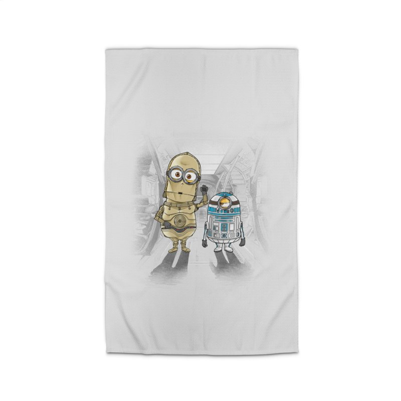 M2D2 AND M3PO Home Rug by zakeu's Artist Shop