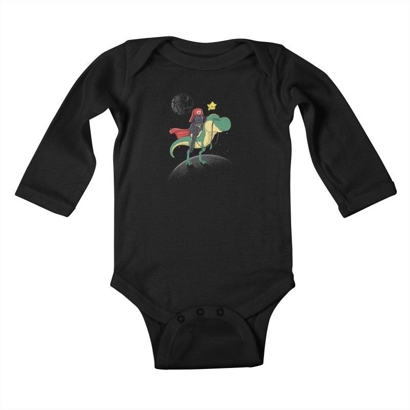 Darth Bros Kids Baby Longsleeve Bodysuit by zakeu's Artist Shop