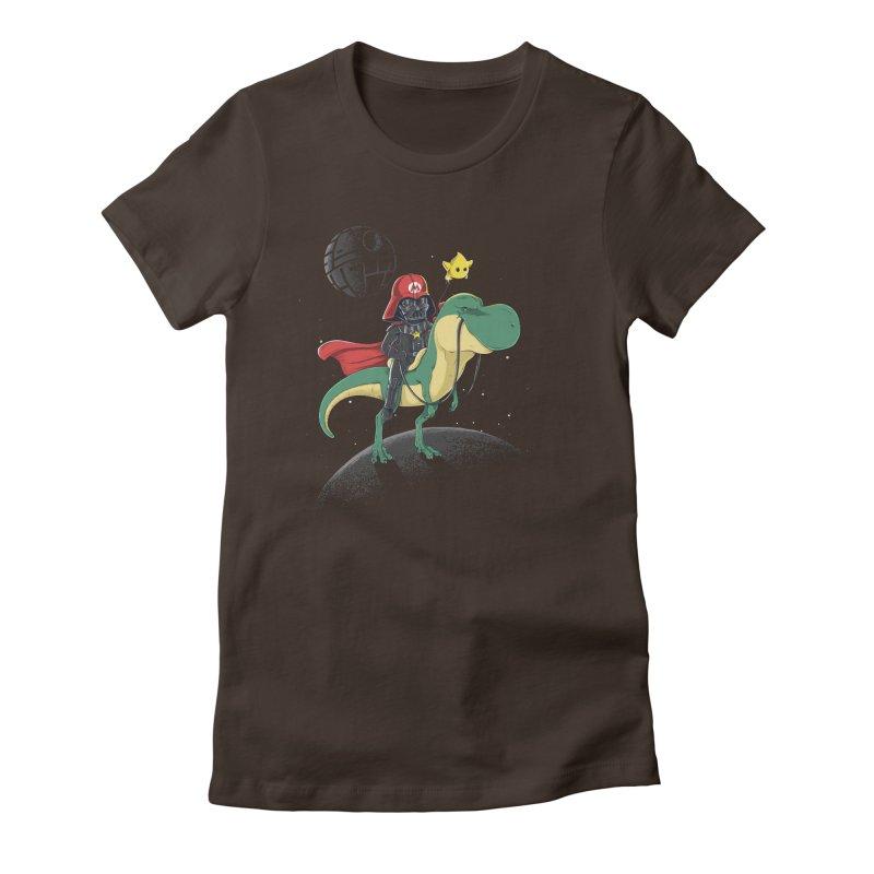 Darth Bros Women's Fitted T-Shirt by zakeu's Artist Shop