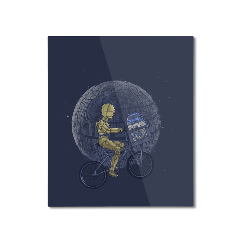 Coming Home Home Mounted Aluminum Print by zakeu's Artist Shop