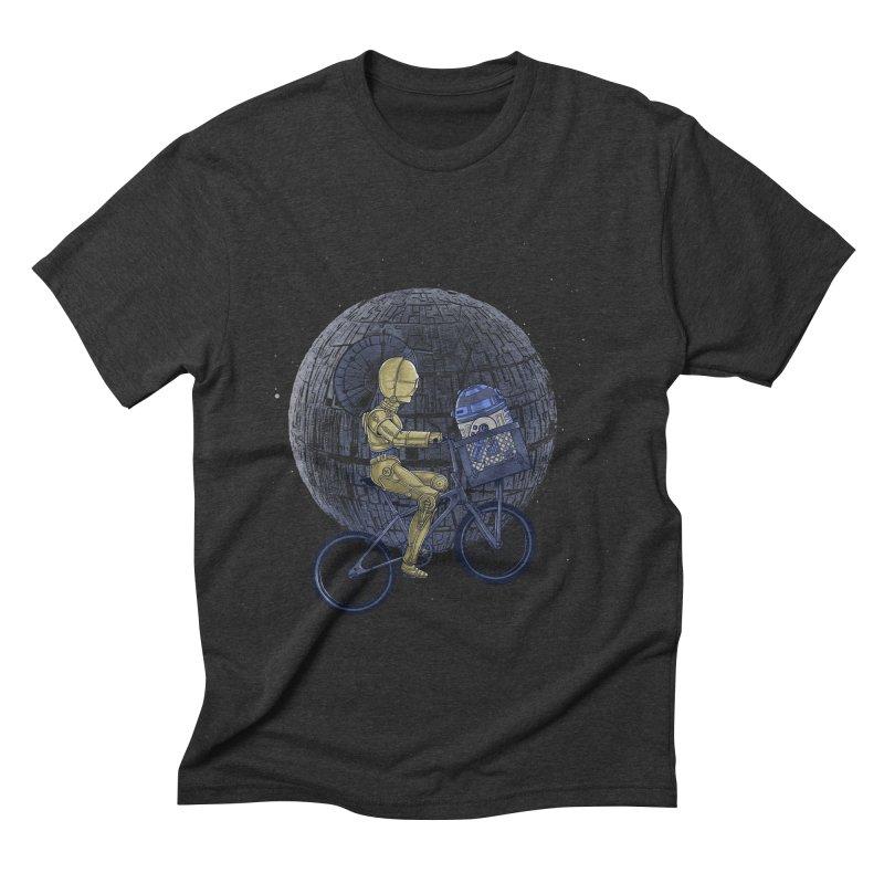 Coming Home Men's Triblend T-shirt by zakeu's Artist Shop