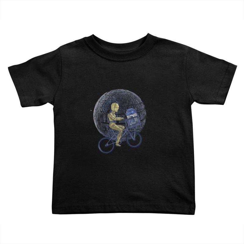 Coming Home Kids Toddler T-Shirt by zakeu's Artist Shop