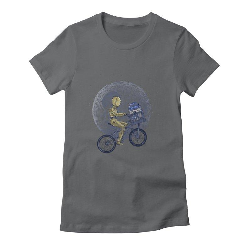 Coming Home Women's Fitted T-Shirt by zakeu's Artist Shop