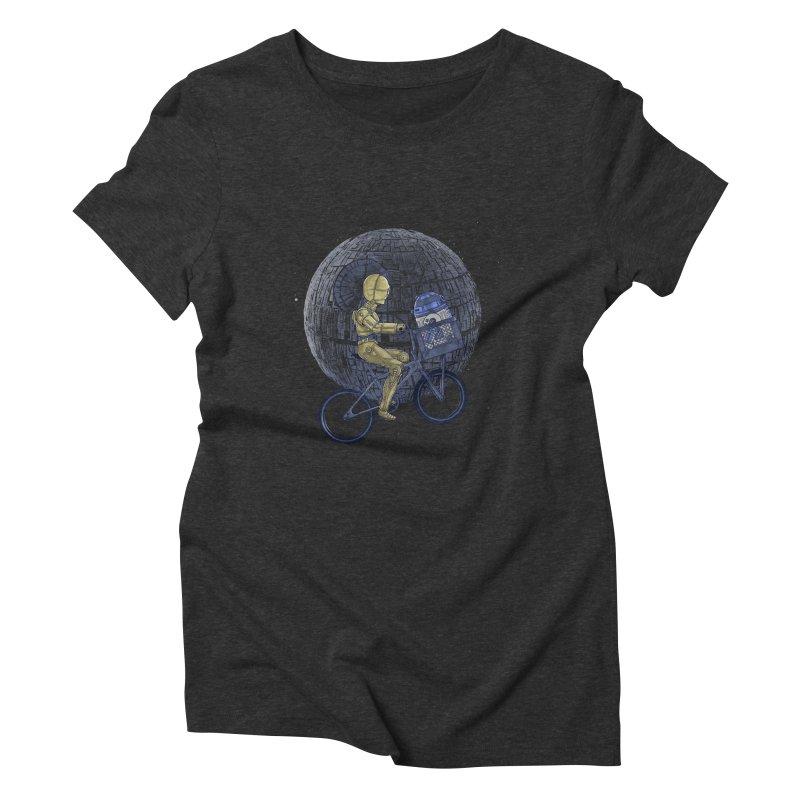 Coming Home Women's Triblend T-Shirt by zakeu's Artist Shop