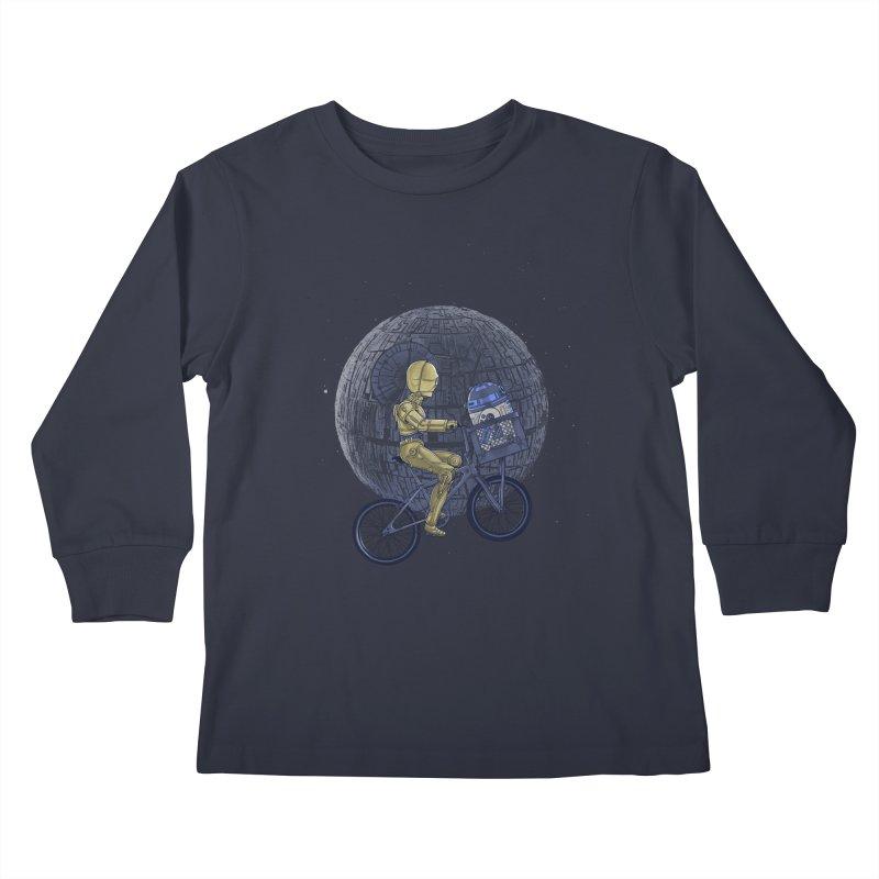 Coming Home Kids Longsleeve T-Shirt by zakeu's Artist Shop