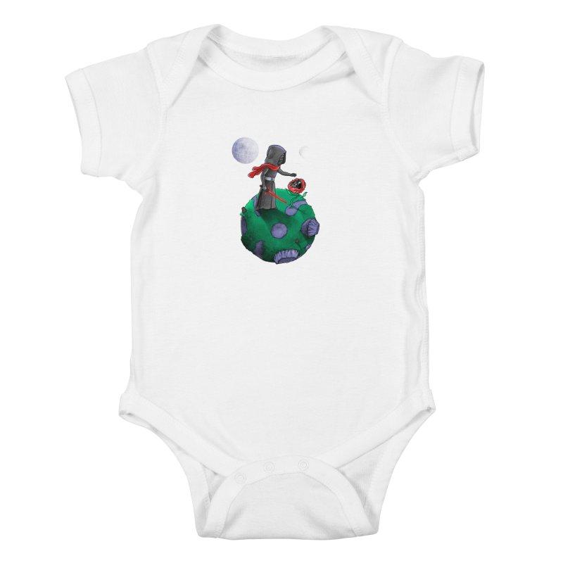 Star Prince Kids Baby Bodysuit by zakeu's Artist Shop