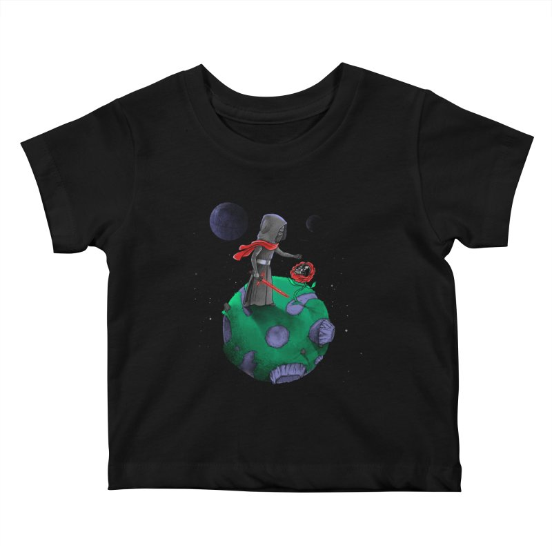 Star Prince Kids Baby T-Shirt by zakeu's Artist Shop