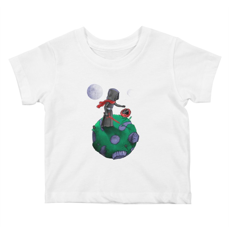 Star Prince Kids Baby T-Shirt by zakeu's Artist Shop