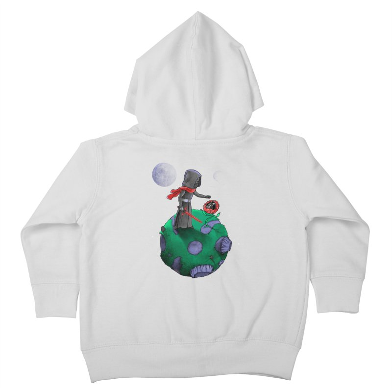 Star Prince Kids Toddler Zip-Up Hoody by zakeu's Artist Shop