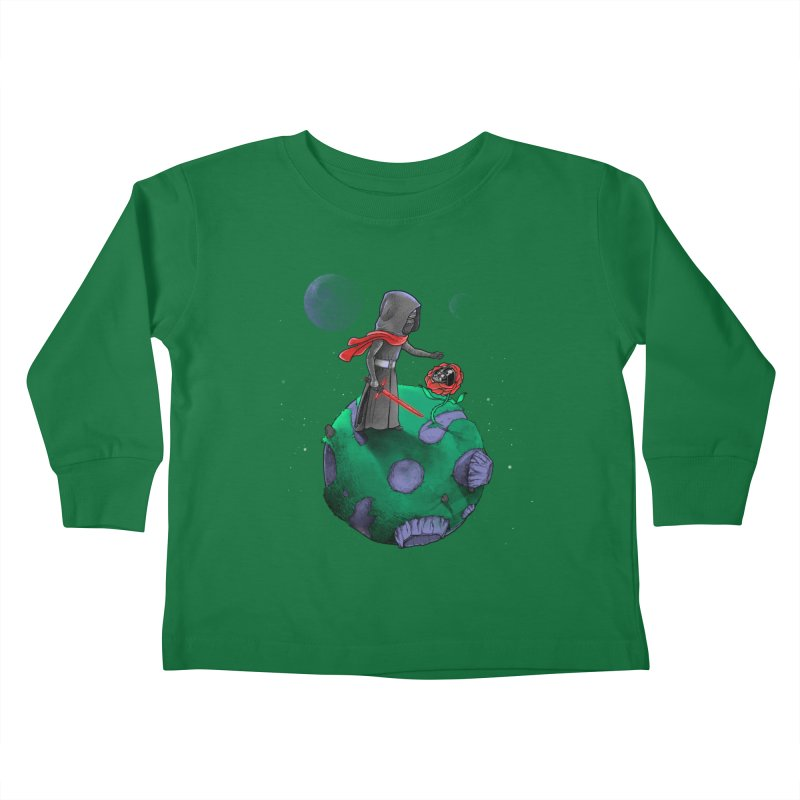 Star Prince Kids Toddler Longsleeve T-Shirt by zakeu's Artist Shop