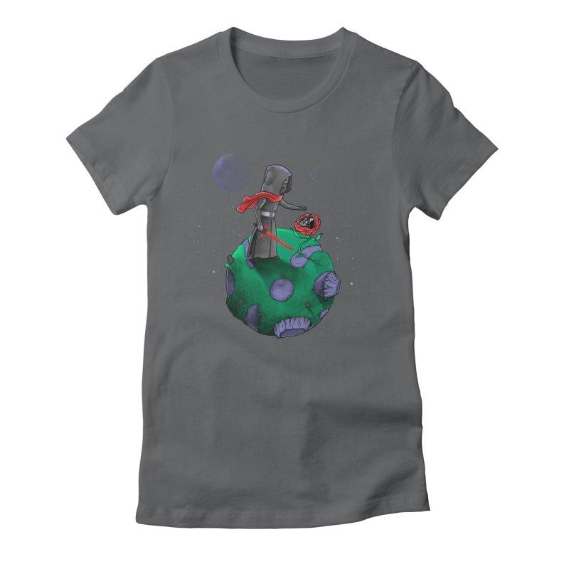 Star Prince Women's Fitted T-Shirt by zakeu's Artist Shop