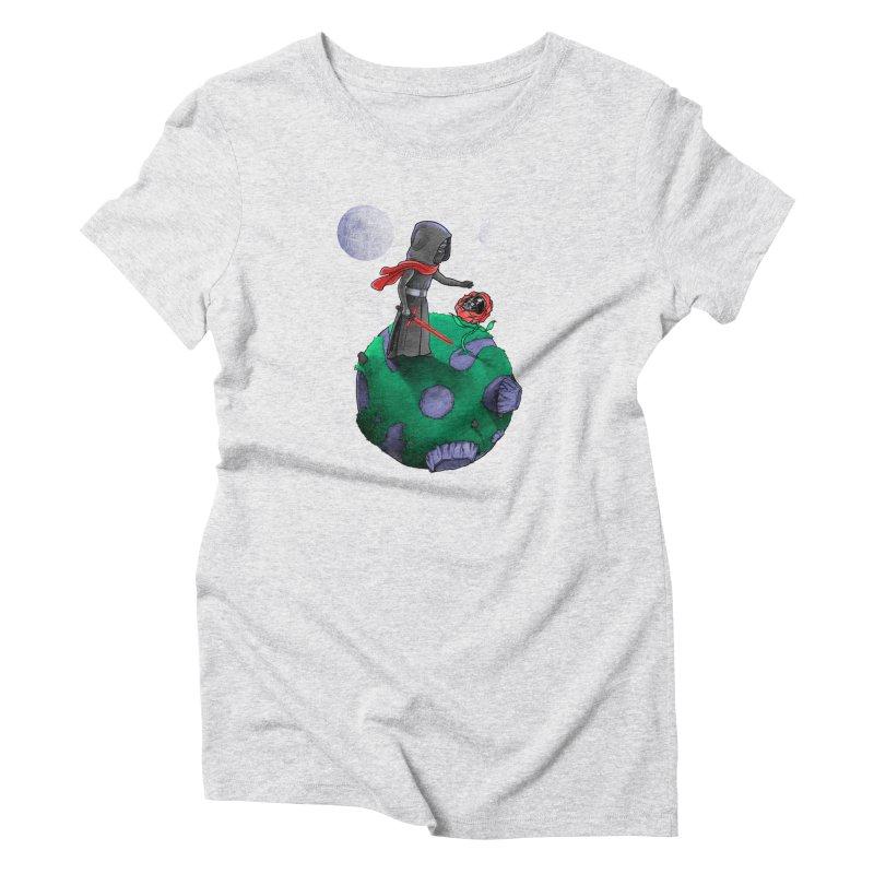 Star Prince Women's Triblend T-Shirt by zakeu's Artist Shop