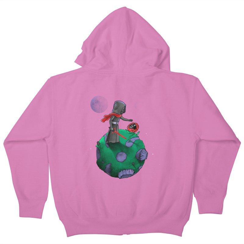 Star Prince Kids Zip-Up Hoody by zakeu's Artist Shop