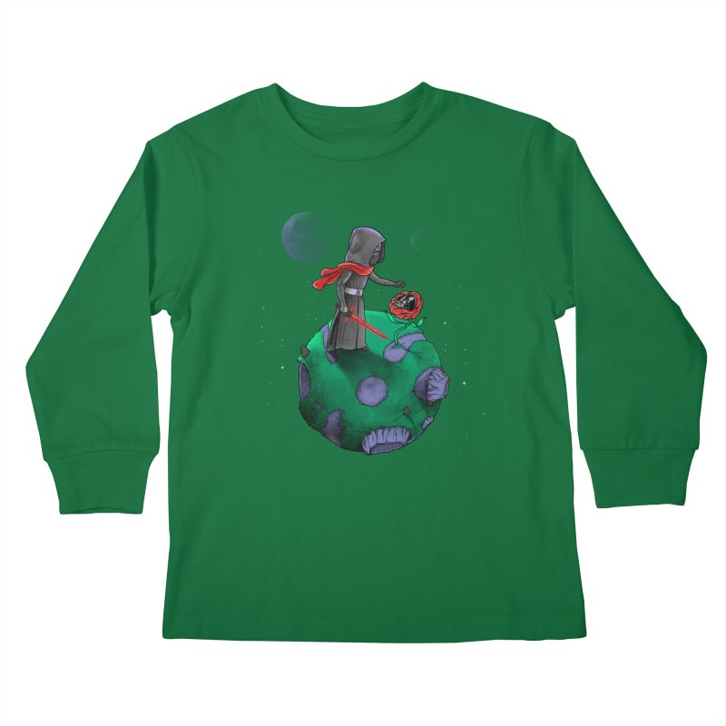 Star Prince Kids Longsleeve T-Shirt by zakeu's Artist Shop