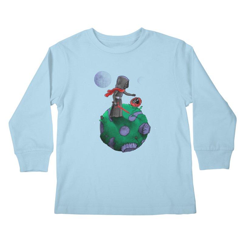 Star Prince Kids Longsleeve T-Shirt by zakeu's Artist Shop
