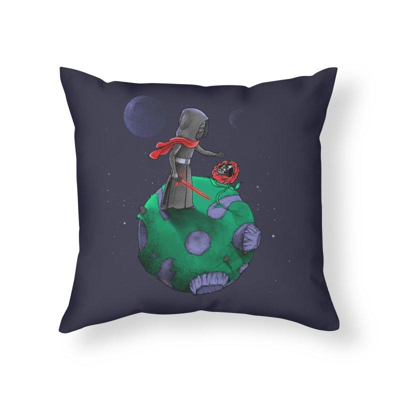 Star Prince Home Throw Pillow by zakeu's Artist Shop