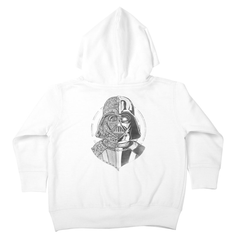 The Darth Kids Toddler Zip-Up Hoody by zakeu's Artist Shop
