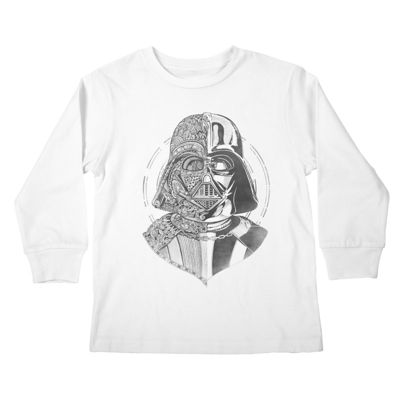 The Darth  Kids Longsleeve T-Shirt by zakeu's Artist Shop