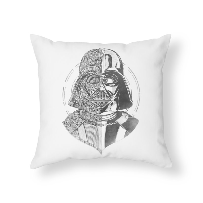 The Darth  Home Throw Pillow by zakeu's Artist Shop