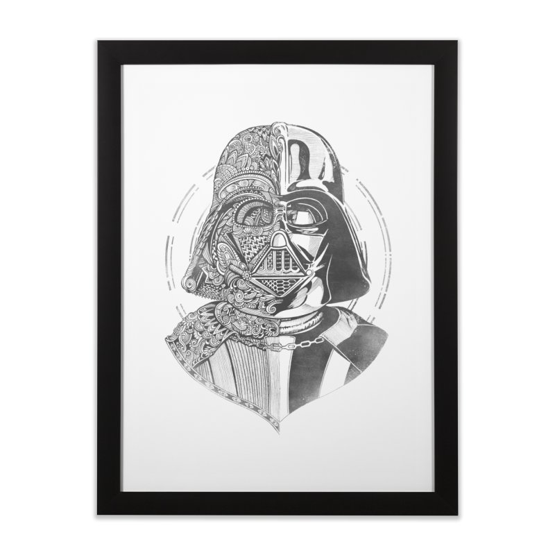 The Darth  Home Framed Fine Art Print by zakeu's Artist Shop