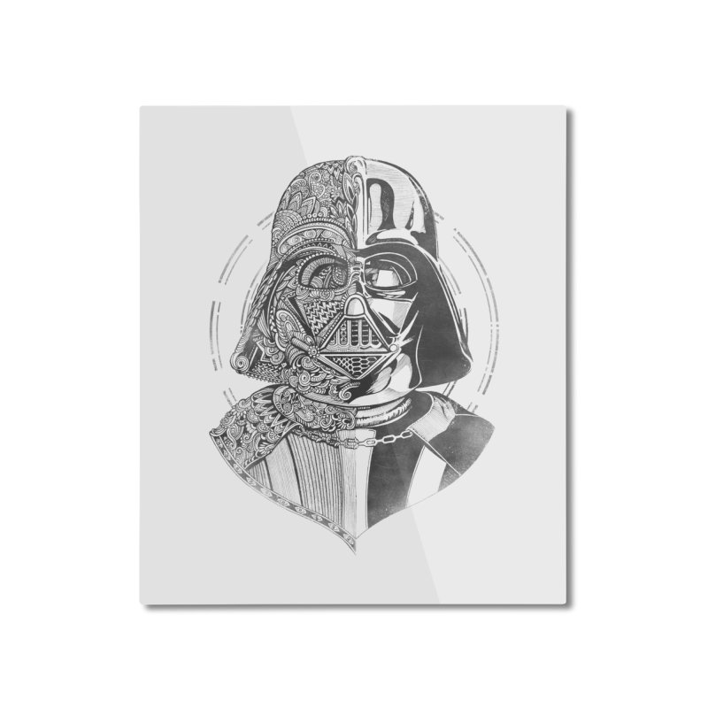 The Darth Home Mounted Aluminum Print by zakeu's Artist Shop