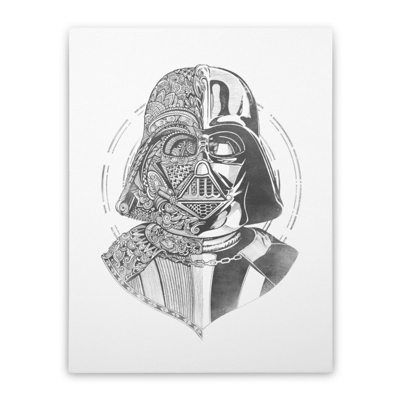 The Darth Home Stretched Canvas by zakeu's Artist Shop