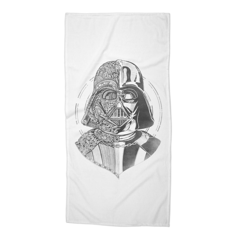 The Darth  Accessories Beach Towel by zakeu's Artist Shop
