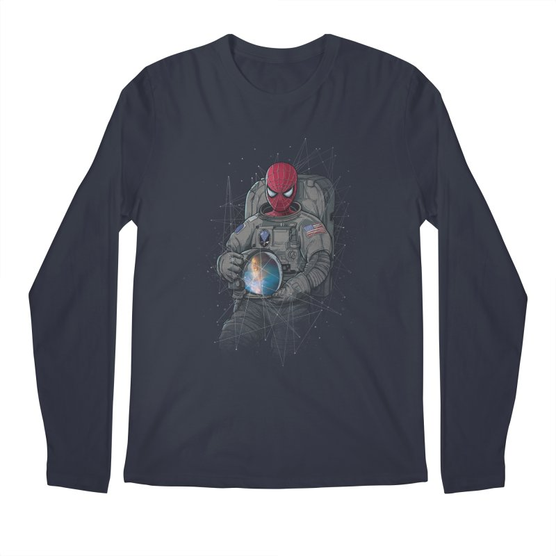 SPIDER-NAUT Men's Longsleeve T-Shirt by zakeu's Artist Shop
