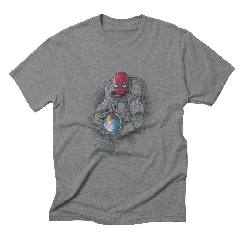 SPIDER-NAUT Men's Triblend T-Shirt by zakeu's Artist Shop