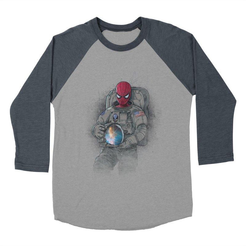 SPIDER-NAUT Women's Baseball Triblend T-Shirt by zakeu's Artist Shop