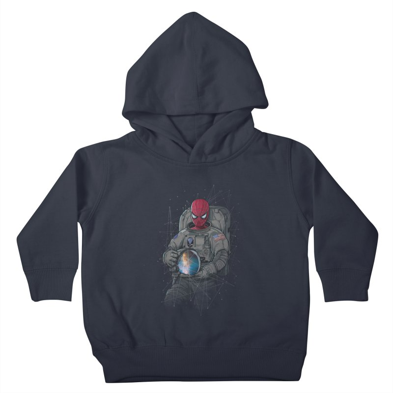SPIDER-NAUT Kids Toddler Pullover Hoody by zakeu's Artist Shop