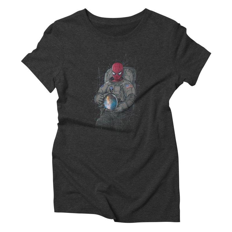 SPIDER-NAUT Women's Triblend T-Shirt by zakeu's Artist Shop