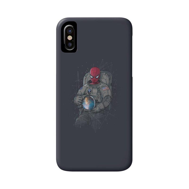 SPIDER-NAUT Accessories Phone Case by zakeu's Artist Shop