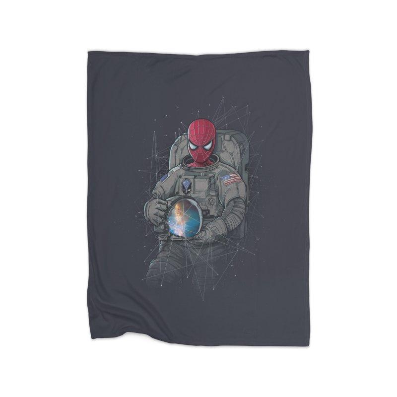 SPIDER-NAUT Home Blanket by zakeu's Artist Shop
