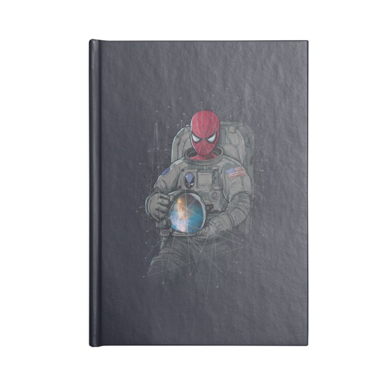 SPIDER-NAUT Accessories Notebook by zakeu's Artist Shop