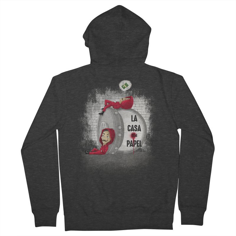 La casa sem papel Men's Zip-Up Hoody by zakeu's Artist Shop