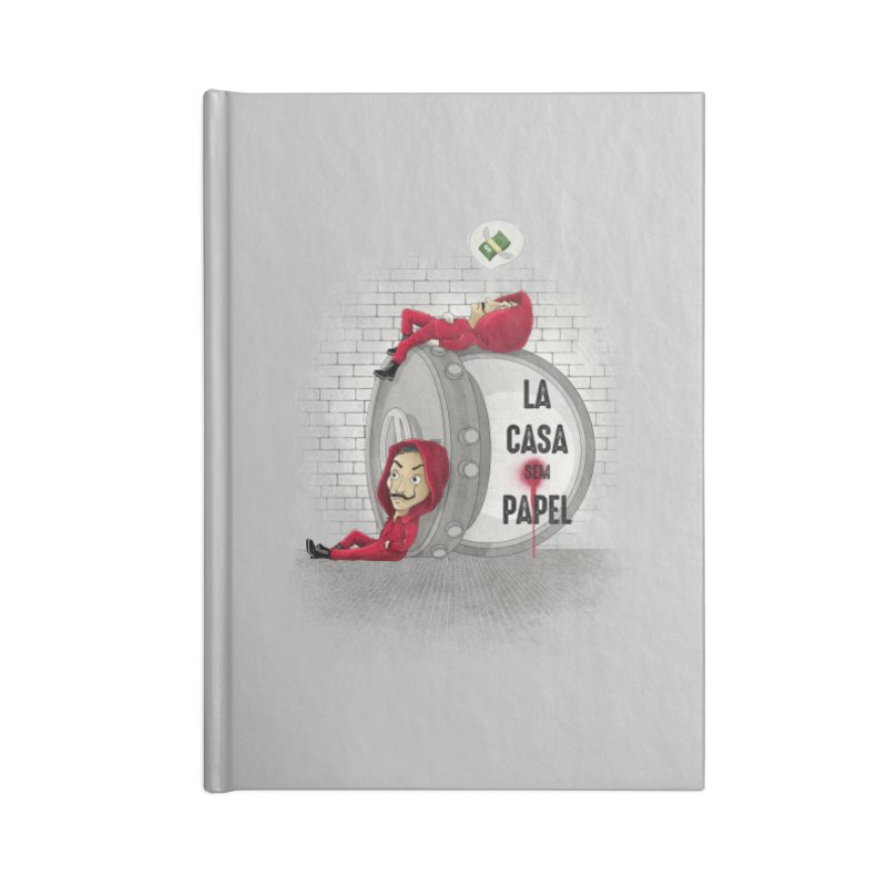 La casa sem papel Accessories Notebook by zakeu's Artist Shop