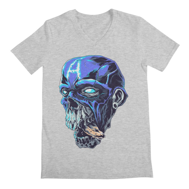CAPTAIN BEAST AMERICA Men's V-Neck by zakiihamdanii's Artist Shop