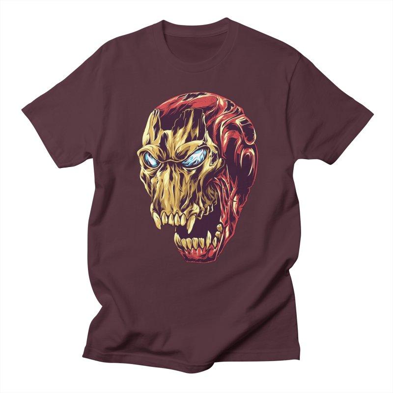 IRON BEAST Men's T-shirt by zakiihamdanii's Artist Shop