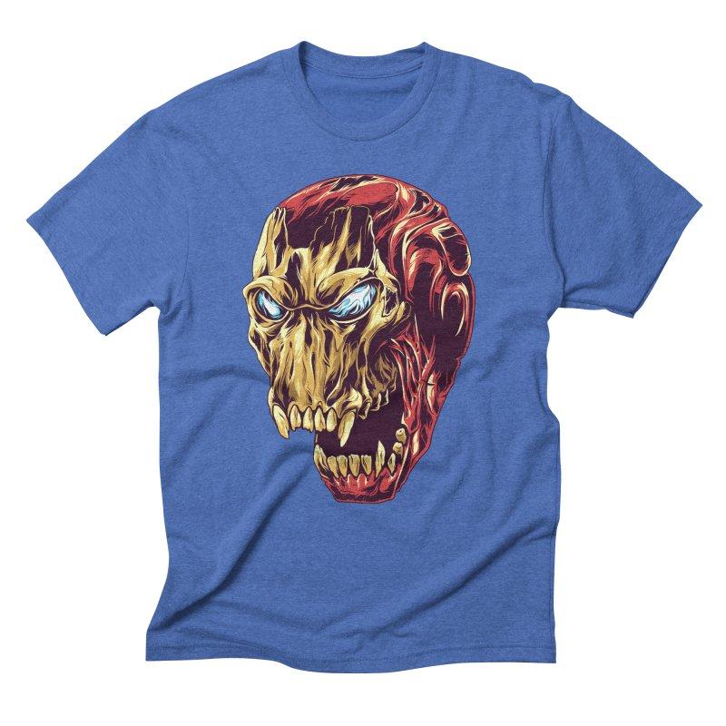IRON BEAST Men's Triblend T-shirt by zakiihamdanii's Artist Shop