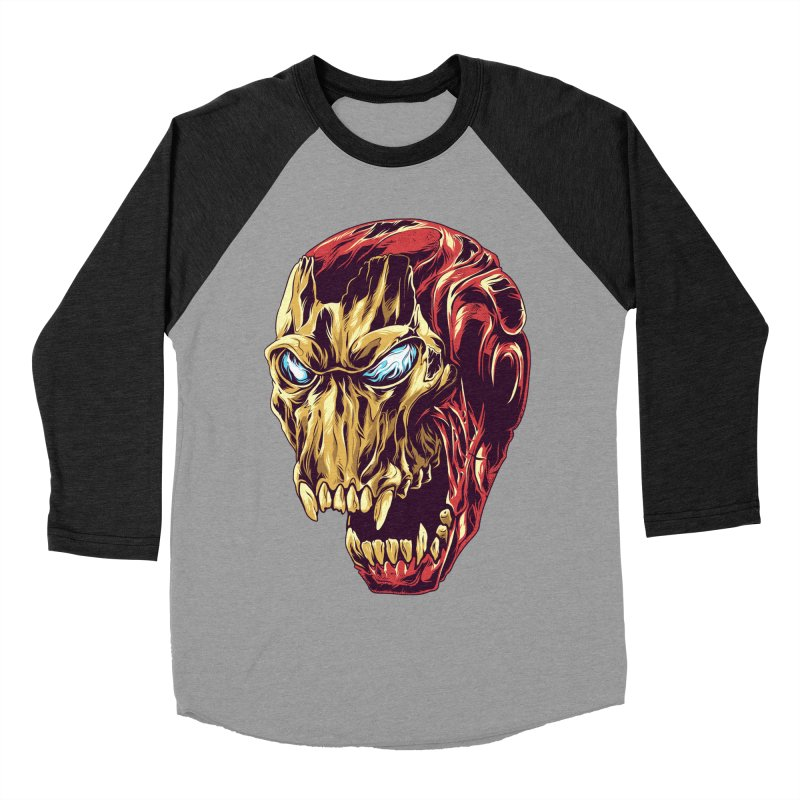 IRON BEAST Men's Baseball Triblend T-Shirt by zakiihamdanii's Artist Shop