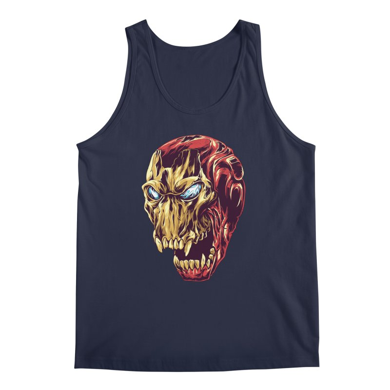 IRON BEAST Men's Regular Tank by zakiihamdanii's Artist Shop