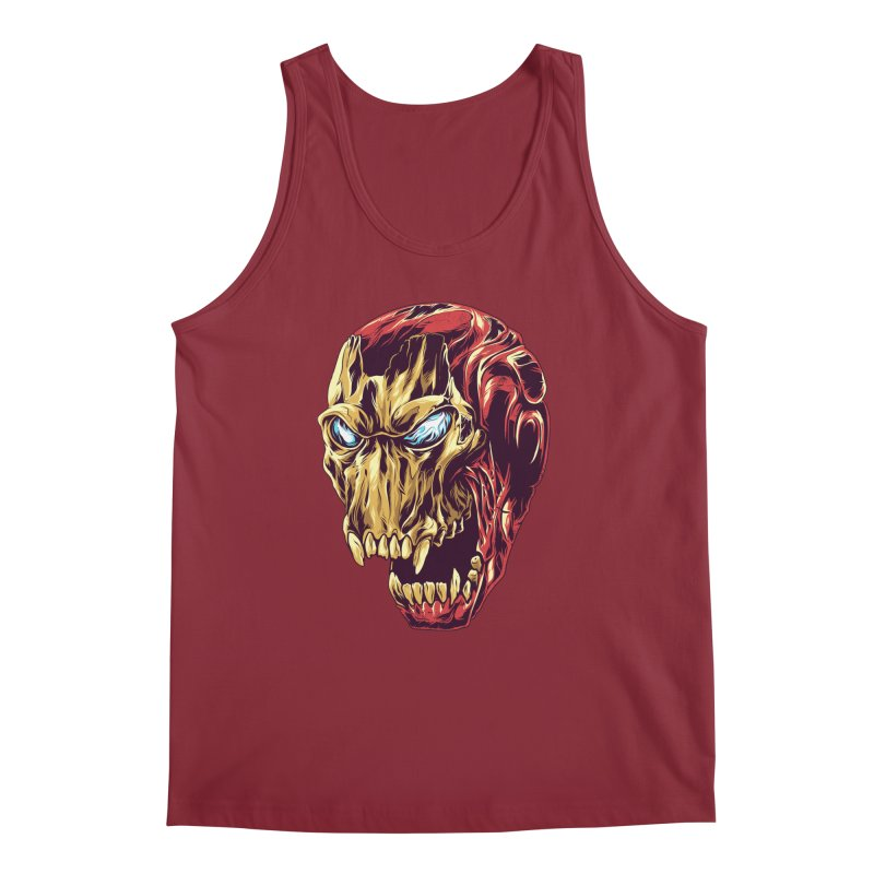 IRON BEAST Men's Tank by zakiihamdanii's Artist Shop