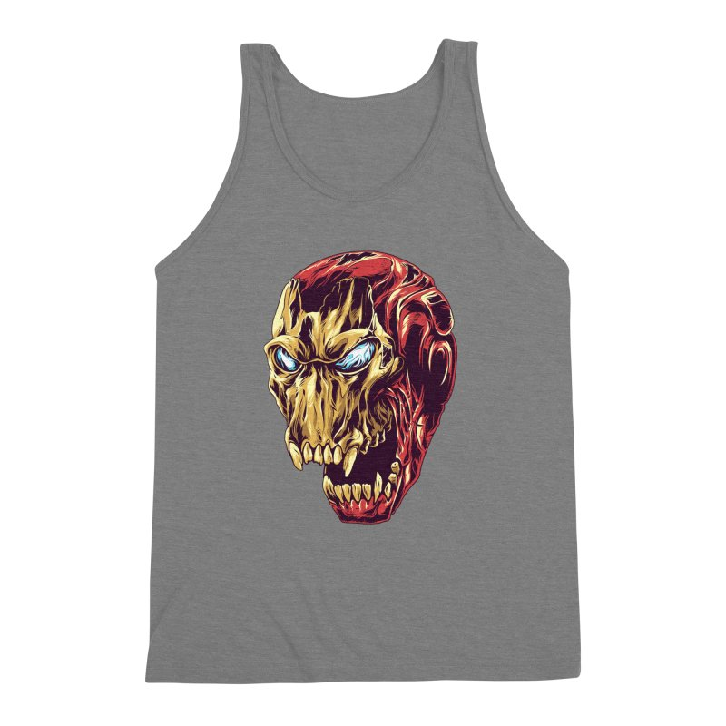 IRON BEAST Men's Triblend Tank by zakiihamdanii's Artist Shop