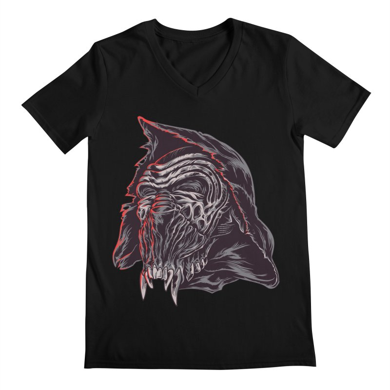 KYLO BEAST Men's V-Neck by zakiihamdanii's Artist Shop